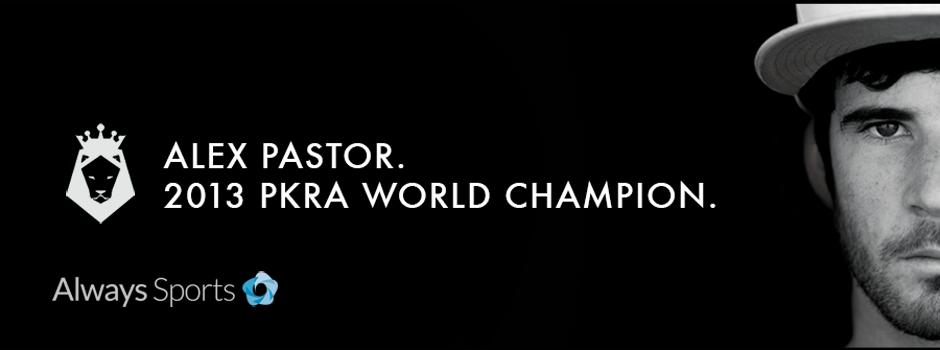 Alex Pastor 2013 PKRA World Champion